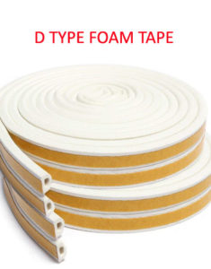 D Type Foam Tape
